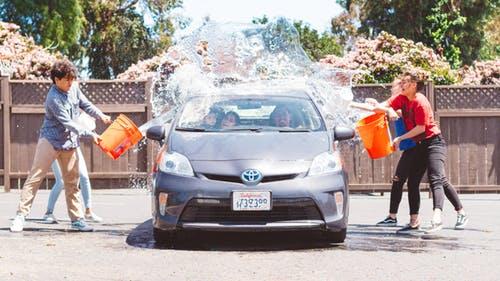 Auto laten wassen 1